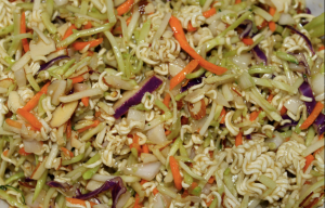 Broccoli Slaw Ramen Noodle Salad | Something to be Savored